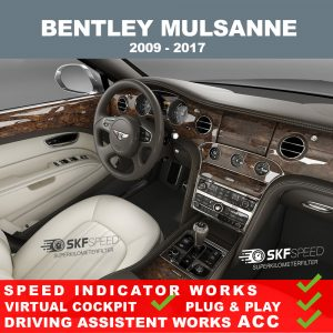 Bentley Mulsanne Speedometer blocker