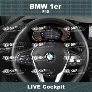 BMW 1ER F40 mileage blocker