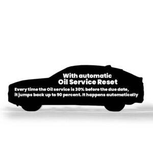 BMW Oil service reset mileage blocker