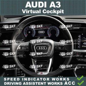 audi a3 digital Cockpit virtual cluster