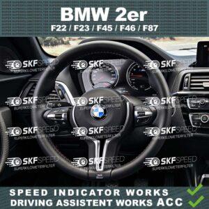 BMW 2ER F22/F23/F45/F46/F87 mileage blocker